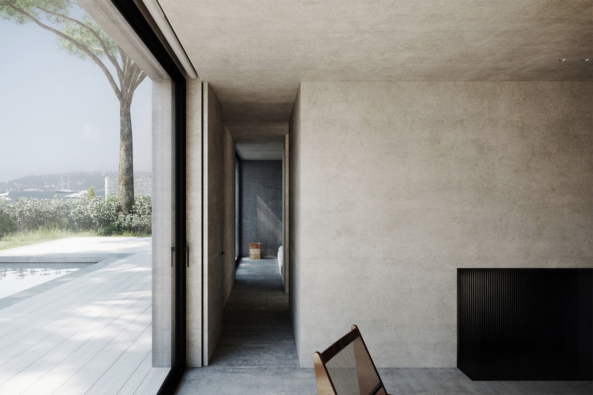 The Pavilion House in South of France